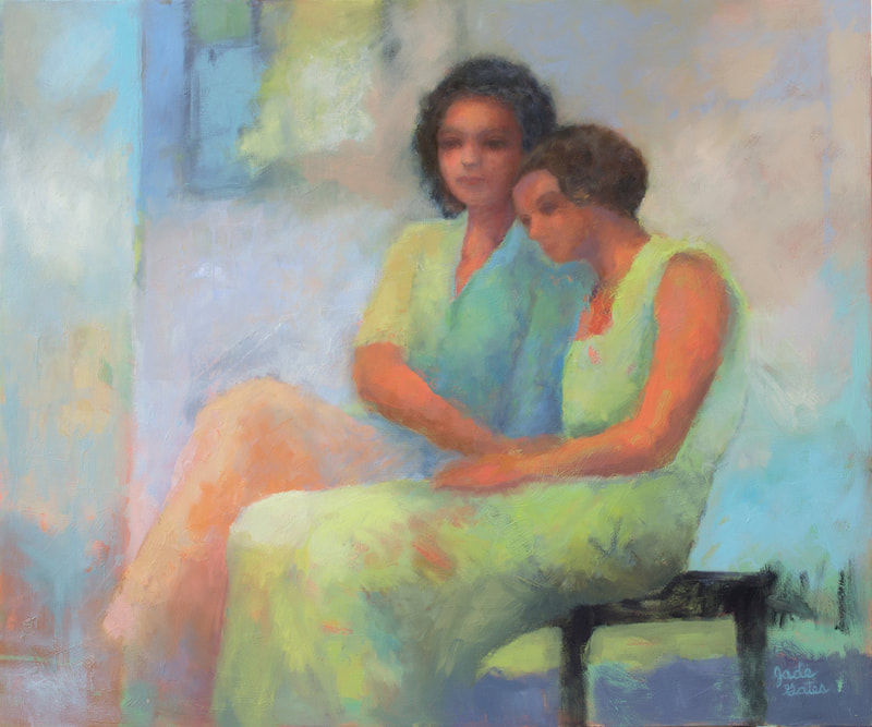 oil painting by artist Jade Gates, Sarasota FL